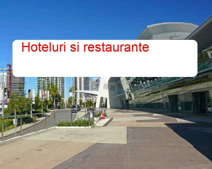 Hoteluri si restaurante