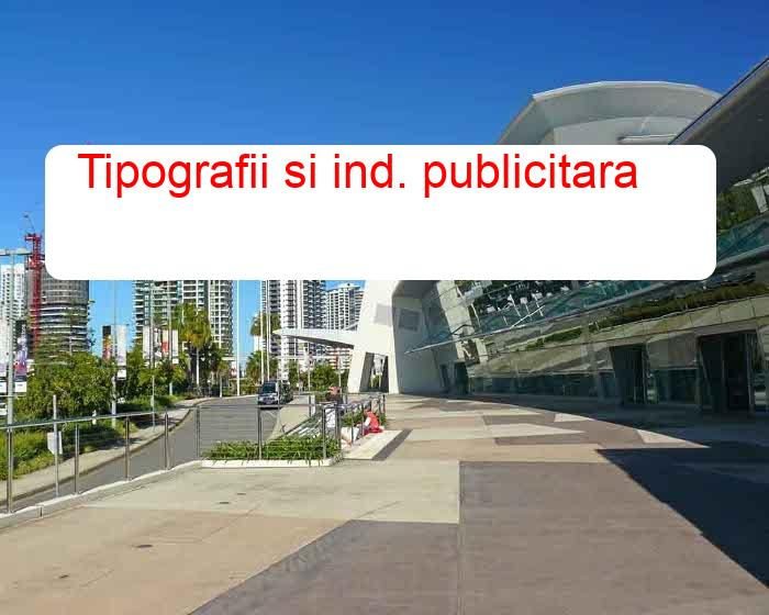 Tipografii si ind. publicitara